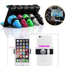 New 360° Car Air Vent Mount Cradle Holder Stand For Samsung S8 A3 A5 A7 2017 Lot