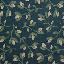 Quilting Fabric Cotton Calico Quilt FQ Green Leaves: Fat Quarter or Cut-to-Order
