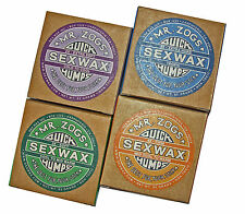 Mr Zogs Sex Wax Quick Humps Surfboard Wax 4 Blocks.