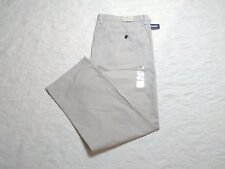 OLD NAVY SLIM FIT KHAKI PANTS MENS SIZE 42X30 CLASSIC KHAKI COLOR ZIP FLY NWT