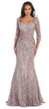 TheDressOutlet Long Mother of the Bride Dress Formal Plus Size Gown