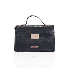 LYDC London sartorial Croc structured grab bag (Various colours available)