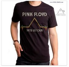 Official PINK FLOYD T-Shirt / Pink Floyd 1973 DSOM Tour Tee,Retro New 2017 Issue