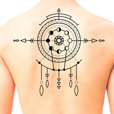 Tribal Shaman Mandala Temporary Tattoo #674 - Temporary Tattoos