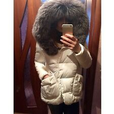 Women Winter Jacket Coat Down Jacket With A Hood Large Faux Fur Collar Coat