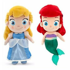 30cm Cinderella ,Little Mermaid Soft Stuffed Plush Doll Gift Toy,Disney Princess
