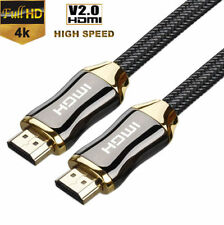 1M-3M HDMI Cable V2.0 3D 4K High Speed Ethernet HEC Full HD 1080p Gold Plated