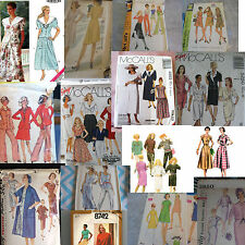 U PICK SEWING PATTERNS MORE THAN PIC MOD & VINTAGE 1940S - 1980S SOME PLUS #2