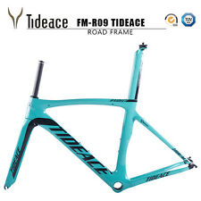 Tideace Carbon Road Bike Frame Cycling Frameset PF30 Full Carbon Bicycle Frames