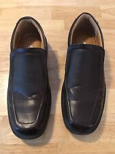 "Size 12 Deer Stags Men Dress/Formal Shoes  ""902 Collection"" Slip Ons Brown"