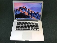  MacBook Pro 15 in. i7 QuadCore 2.4Ghz Up to 16GB Up to 1TB SSD ~ WARRANTY