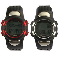 New Fitness 3D Pedometer Calories Counter Watch Pulse Heart Rate Monitor Oenate