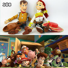 TALKING TOY STORY PULL STRING SHERIFF WOODY JESSIE DOLL ACTION FIGURES TOY GIFT