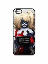 Cover iphone 4/4s 5s 5c 6s Suicide squad Joker Harley Quinn marvel comics