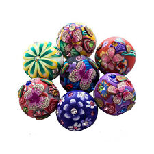 wholesales lot 10 mixed 18-20mm femo clay  snaps chunk buttons charms