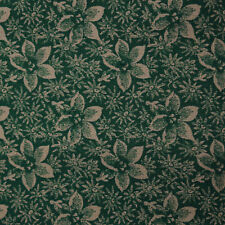 Quilt Fabric Quilting Cotton Calico Green Tonal Floral: FQ or Cut-to-Order