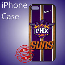 ED# NBA Phoenix Suns Basketball Case Cover For iPhone 8 8+ 7+ 7 6s+ 6+ se 5c 5s