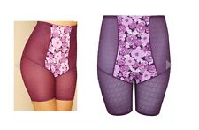 New Purple Floral High CONTROL SHAPER Knickers PLUS SIZE 16-28 LOOK be EX Yours