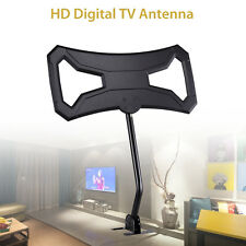 Digital HDTV Indoor&Outdoor Antenna UHF VHF DTV Flat 8dBi 470-862MHz 32ft Cable