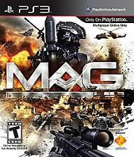 MAG (SONY PlayStation 3) PS3 Action / Shooter Game COMPLETE Disc is Near Mint