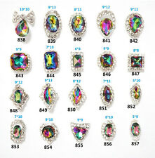 Shiny Alloy Rhinestone Sticker DIY Nail Art Decoration Crystal Charms