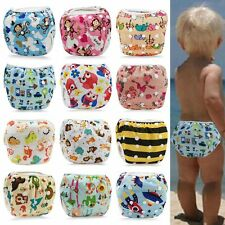 Swim Diaper Nappy Pant Washable Reusable Adjustable Infant Baby Boy Girl Toddler