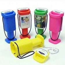 5 Hand Held Plastic Collection  Boxes - Charity Money Fundraising