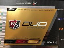 New 2016 Wilson Duo White Urethane Golf Balls 12 Balls(1 Dozen)