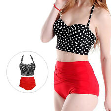 Polka Dot New Sexy Bra + Panty 1 Set Hot Women Bikini Pin Up