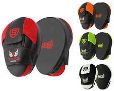 Focus Curved Pads Mitts,Hook and Jab,Punch Bag Kick Boxing Muay Thai MMA USA