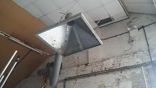 Commercial Fume Exhaust Extractor fan Garage Factory Workshop + Canopy/Hose