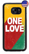 Rasta One Love Bob Marley TPU Case Cover For Samsung Galaxy S9 S8 Plus S7 Edge