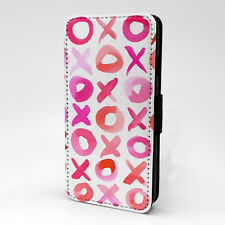 XOXO Print Design Pattern Flip Case Cover For Samsung - P1086
