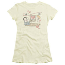 I Love Lucy Show HOME IS WHERE THE HEART IS Ladies Cap Sleeve T-Shirt