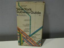Vintage New York City Subway Guide Transit Authority 1972 Revised 1978