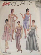 Easy OOP McCALLS 8561 MS/Wmns Formal Lined Tops & Skirts PATTERN 14-16-18-20 UC