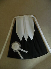 Girls Victorian, Edwardian, maids costume, fancy dress, age 8 +