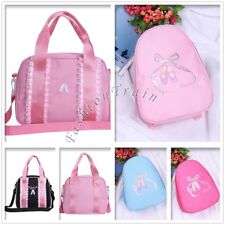 Girl Kid Lace Shoulder Bag Handbag Dance Shoes Embroidered with Strap Ballet Bag