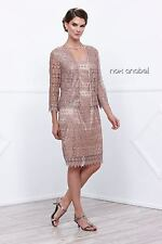 Lace Mother of the Bride Dress with matching Jacket