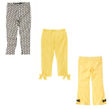 Gymboree Bee Chic  5 6 7 10 12 Pants Leggings Cropped Yellow Bow 2011