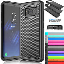 Shockproof Hybrid Rubber Protective Cover Case For Samsung Galaxy S8 Plus / S8