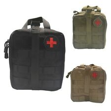 Outdoor Tactical Medical Military First Aid 900D Nylon Sling Pouch Bag Case