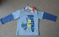 New, Tags Boys Long Sleeved Top Age 3-4 Bart Simpson