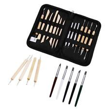Polymer Clay Sculpting Tool Set Wood Models Art Projects Pottery Tools