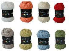 Cygnet DK Cottony Knitting/Crochet Wool 50G (5% DISCOUNT AVAILABLE - SEE OFFERS)