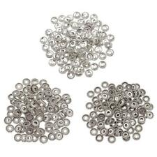 100pcs Tibetan Silver Spacer Beads for Beading Jewelry Charms Bracelet Making