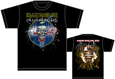"IRON MAIDEN ""CIPWM, Maiden England Tour 2013"" RARE New Official Licensed T-Shirt"