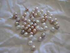 Set of Four Baroque Pearl Drops for Jewellery or Costuming