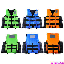 Safety Life Jacket Foam Float Vest For Adult Water Ski Sports Surfing Rafting
