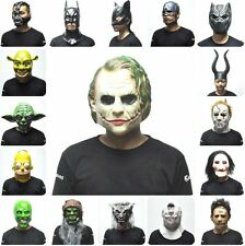 Halloween costume mask full Head mask Latex Party Movie scary Adult High Quality